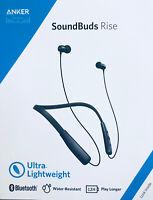 Anker Soundbuds Rise Wireless Bluetooth Headphones Wireless Neckband Earbuds IPX