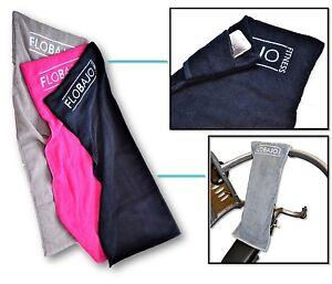 GymTow - Sporthandtuch / Fitnesshandtuch / Multifunktion mit Tasche und Sleeve