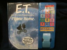 NEW Vintage E.T. The Extra-Terrestrial Phone Home Book w/ Phone - Works!