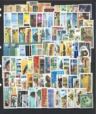 Nauru 100 Different Stamps in Glassine Bag Mint & Used