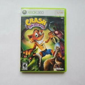 Crash Mind Over Mutant Xbox 360 case & manual only, no game disc Microsoft