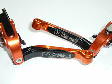 Kawasaki z750r 2011-2012 Plegable Ajustable De Freno Y Embrague Palancas Set Race S16c