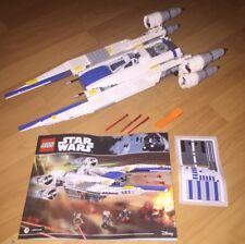 LEGO Star Wars - Set 75155- U-Wing Rebel Fighter  (No Figures)
