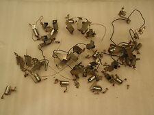 Stern Memory Lane 1978 Pinball Machine Playfield Lot of Metal Light Sockets!