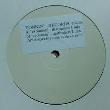 "Spectre ""EVOLUTION"" * tnk016/Destination 1 & 2 mixes/PROMO"