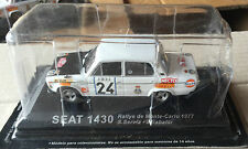 "DIE CAST "" SEAT 1430 RALLYE DE MONTE CARLO 1977 "" RALLY DEA SCALA 1/43"