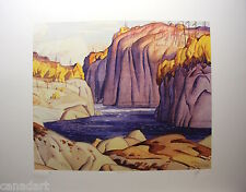 A.J.CASSON group of seven SIGNED MAGNETAWAN LTD art numbered Platinum edition