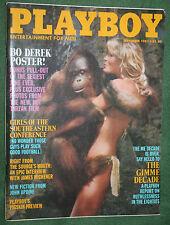 Playboy Sept 1981 Tarzan & Bo Derek Susan Smith POM James Michener interview