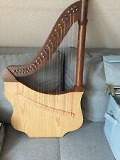 Harfe 22 Saiten Heartland Harp 2 x Saiten + Buch