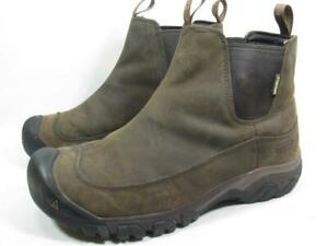 Keen Anchorage III Insulated Waterproof Chelsea Ankle Boot Men size 11 Brown