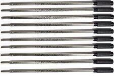 10 Napkin Forever Cross Style Ballpoint Pen Refills, Black, High Quality, Italy