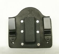 FoxX Holsters Leather & Kydex IWB Magazine Pouch Walther P22 Black