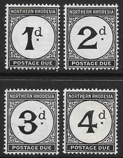 Northern Rhodesia 1929-52 Postage Due Set (Mint)