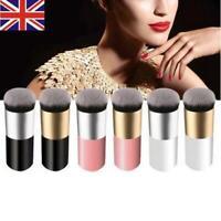 HOT Flat Makeup Brush Foundation Kabuki Contour Powder Face Tool Cosmetic