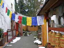 1 Rolle tibetischer Gebetsfahnen Nepal Silk ca. 20-21cm