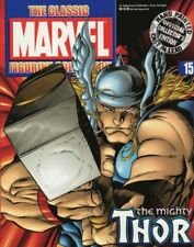 Classic Marvel Figurine Collection # 15 The Mighty Thor + Magazine
