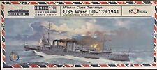 1/700 USS Ward DD-139 Wickes Class destroyer 1941 Pearl Harbor * Flyhawk FH1106