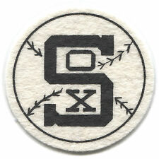 """1954 CHICAGO WHITE SOX MLB BASEBALL BEST AND CO. VINTAGE 2.5"""" TEAM LOGO PATCH"""