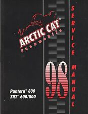 1998 ARCTIC CAT SNOWMOBILE ZR 440 P/N 2255-728 SERVICE  MANUAL (095)