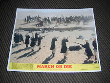 March or Die Terrence Hill Color 8x10 Promo Photo Original Lobby 1977