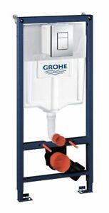 SET Grohe Rapid SL WC-Vorwandelement 113 cm inkl. Skate Cosmopolitan Chrome
