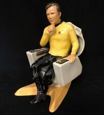 VERY RARE Kevin Francis Ltd Edition Star Trek figurine capitaine James T. Kirk Comme neuf