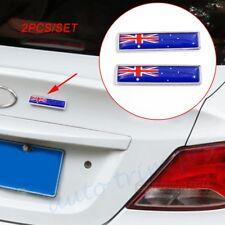 Car Accessories Trim Chrome 3D Sticker Decal Australia AU Flag Emblem Badge Logo