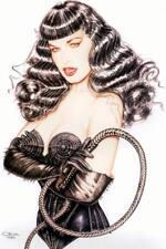 Akt Vintage Foto - PinUp Girl Motiv - leicht bekleidete Frau  (29) /S200