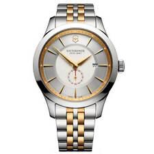 Victorinox Swiss Ejército Reloj de Hombre Alianza Blanco y Plata Cuadrante Cuarzo 241764