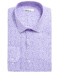Bar Ill Slim-Fit  Easy-Care Watercolor Floral Dress Shirt 16-16 1/2 34-35  mcz