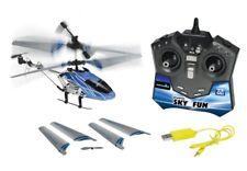 Helikopter Sky Fun mit Fernbedienung LED Beleuchtung Ferngesteuert Flugzeug NEU