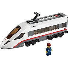 LEGO Treno Passeggeri Bianco City ad alta velocità motore con motore da 60051-NUOVO