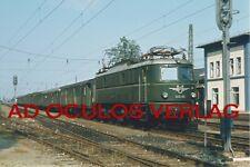 Dia-Kopie ÖBB 1018 03 Lambach 9.8.1975 F1246