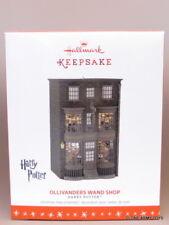 NEW 2016 Ollivanders Wand Shop Harry Potter CHRISTMAS HALLMARK KEEPSAKE ORNAMENT