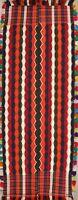 Antique Geometric Hand-Woven Kilim Kashkoli Oriental Wide Runner Rug 5x11 Carpet