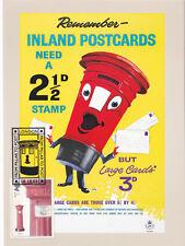 (23329) GB Postcard FDC Pillar to Post Inland Postcards London 8 October 2002