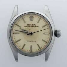Vintage 1946 Rolex 6420 Oyster SpeedKing Stainless Steel Watch Head AB-RLX2