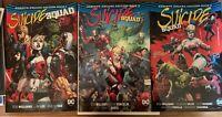 Suicide Squad DC Comics Deluxe Rebirth Hardcover Books 1-3