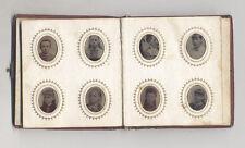 1850S GEM TINTYPE PHOTO ALBUM W/ OVER 70 GEM TINTYPE PORTRAITS