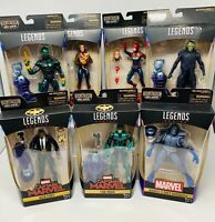MARVEL LEGENDS CAPTAIN MARVEL BAF KREE SENTRY SET OF 7