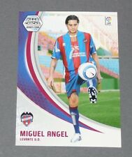 MIGUEL ANGEL LEVANTE UD ESPAGNE PANINI CARD MGK FOOTBALL LIGA 2007-2008