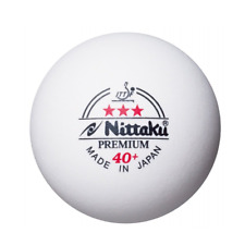 Tischtennisbälle Plastikball NITTAKU Premium 3 Stern 40+ ITTF 15 Stücke original