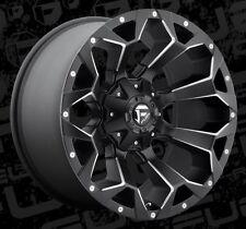 Fuel Assault D546 20x10 8x170 ET-18 Black Wheels Rims (Set of 4)