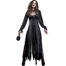 Halloween Vampire Costume  Ghost Bride Dress Party Stage Adult Cosplay Costumes