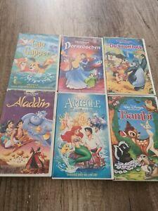 Vhs Kassetten Von Disney Mit Hologramm