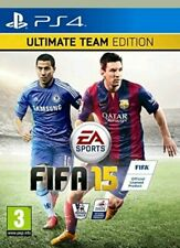 Genuine PS4 FIFA 15 Ultimate Team Edition BRAND NEW SEALED FAST FREE SHIPMENT