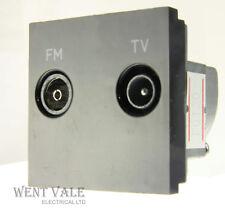 MK Logic Plus-K5852 BLK-EURO TV/FM Antenna 50 x Modulo 50mm NUOVO