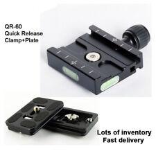 Schnellwechselplatte QR60 Adapter für Arca Swiss Stativkugelkopf