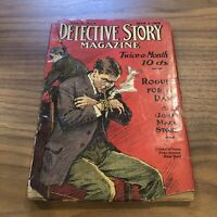 DETECTIVE STORY MAGAZINE-MAR 5, 1916-NICK CARTER-FRANK CONLY-JOHN MACK PULP