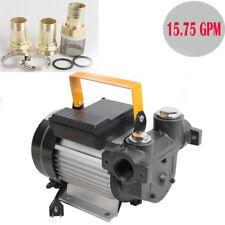 110V 60L/min 550W Self Priming Electric Oil Diesel Fuel Transfer Pump 15.75 Gpm